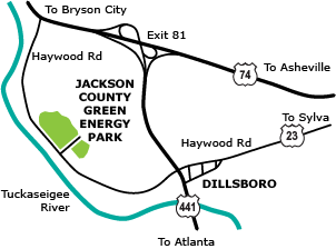 Where Is The Green Energy Park In Dillsboro Nc Jcgep