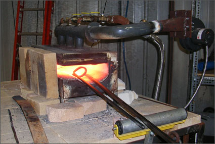 Methane Powered Blacksmith Forge Rentals Dillsboro